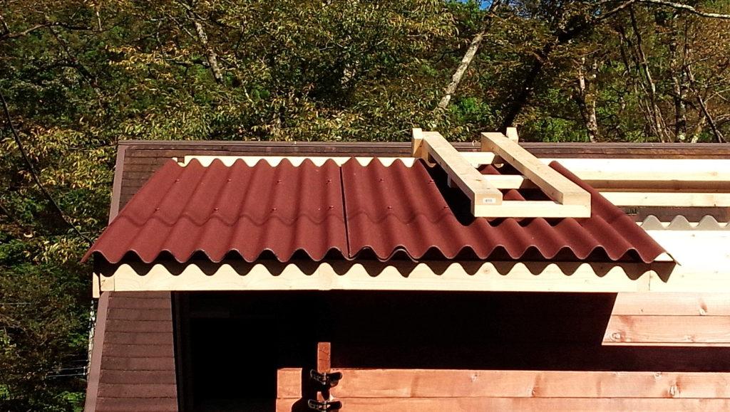diy 屋根 材